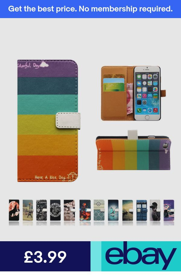 new style 968f3 d61a2 XH Leather Wallet Card Case Stand Cover for MOTO Nokia 1 3 6 7 8 9 ...