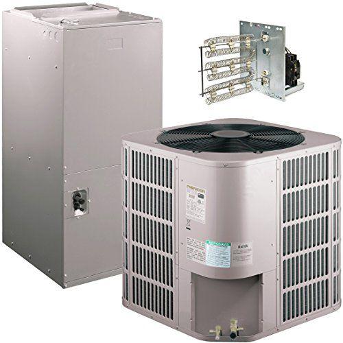 Pioneer Air Conditioner Inverter+ Ducted Central Split System Air Conditioner Heat Pump Full Set, 60000 BTU 5 Ton