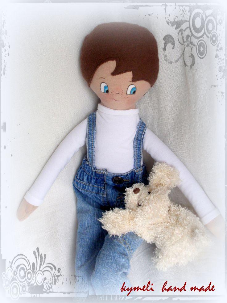 Boy-doll for play 50cm