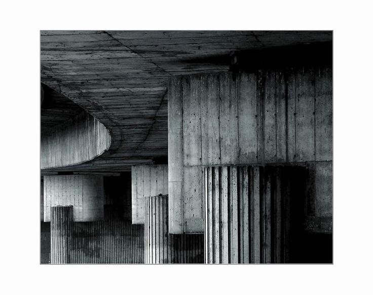 Abstract of Barrandov bridge