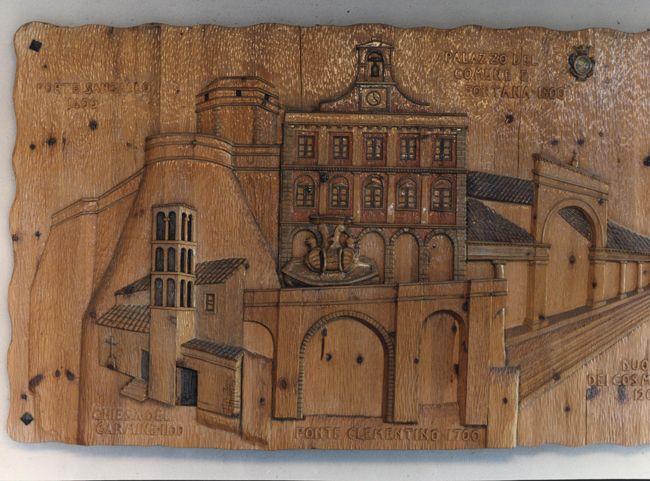 civita castellana intarsiata nel legno da mastro fiore non solo bagnomastro fiore civita