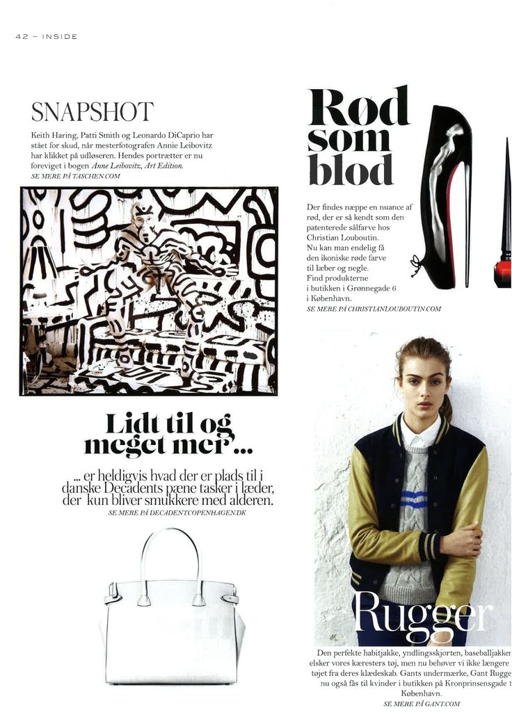 Danish Elle October 2014