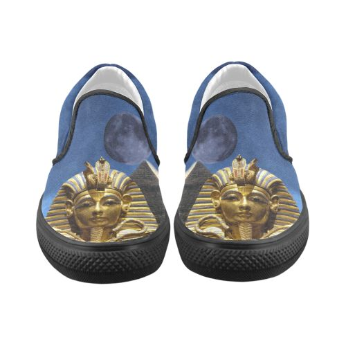 King Tut and Pyramid Men's Unusual Slip-on Canvas Shoes. FREE Shipping. FREE Returns.