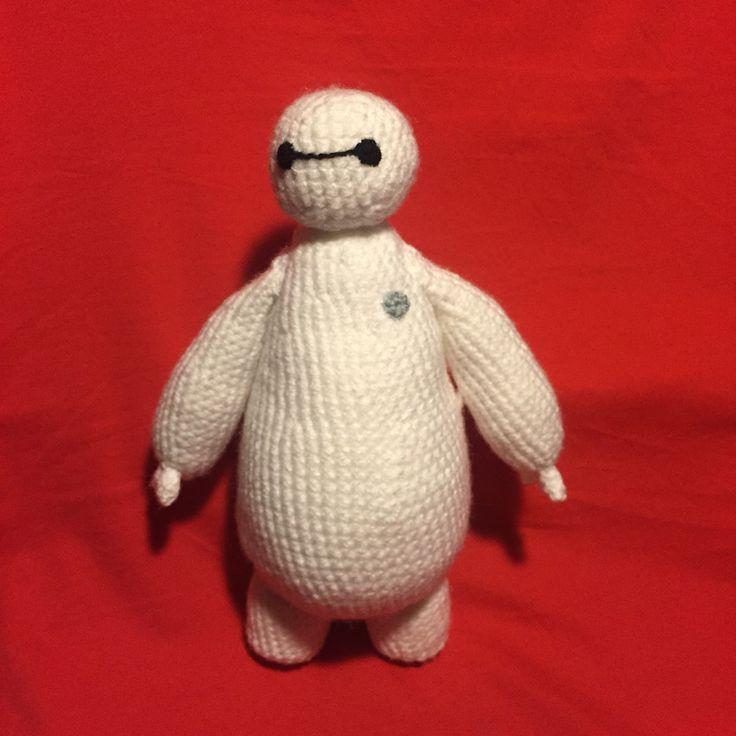 Grande Héroes!! #baymax #amigurumi #crochetlover
