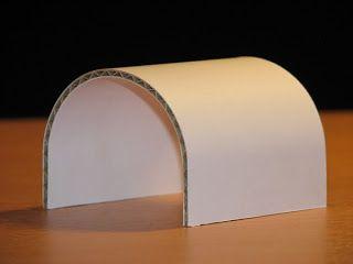Carton, bricolage, décoration...: Technique - Cintrage d'une plaque