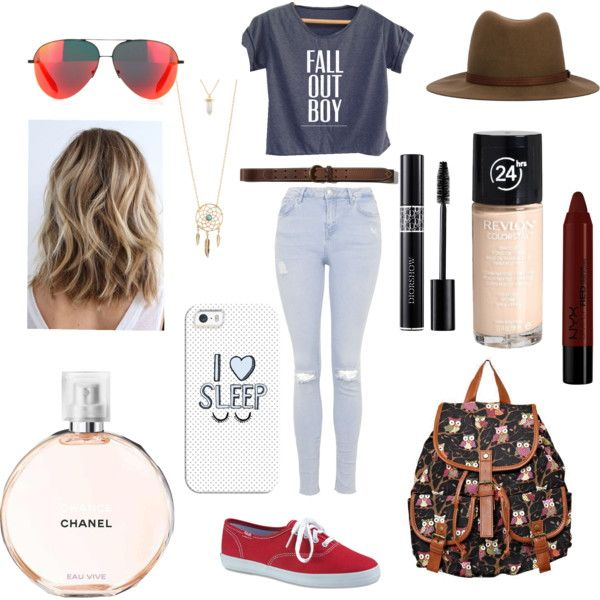 Untitled // 6 by lucywerta on Polyvore featuring polyvore fashion style Topshop Keds Aéropostale Victoria Beckham rag & bone Casetify Abercrombie & Fitch Revlon NYX Chanel
