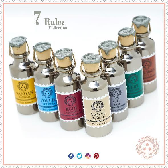 Le 7 nuove fragranze di Acampora