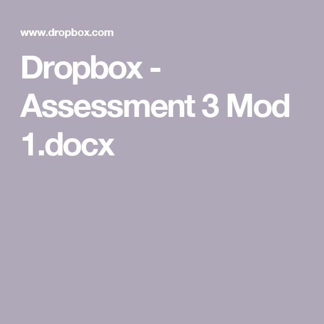 Dropbox - Assessment 3 Mod 1.docx