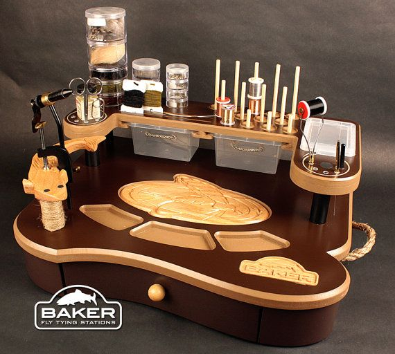Fly Tying Station By Bakercreationsus On Etsy Fly