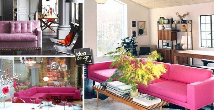 Pi di 25 fantastiche idee su divano rosa su pinterest - Magico tocco divano ...
