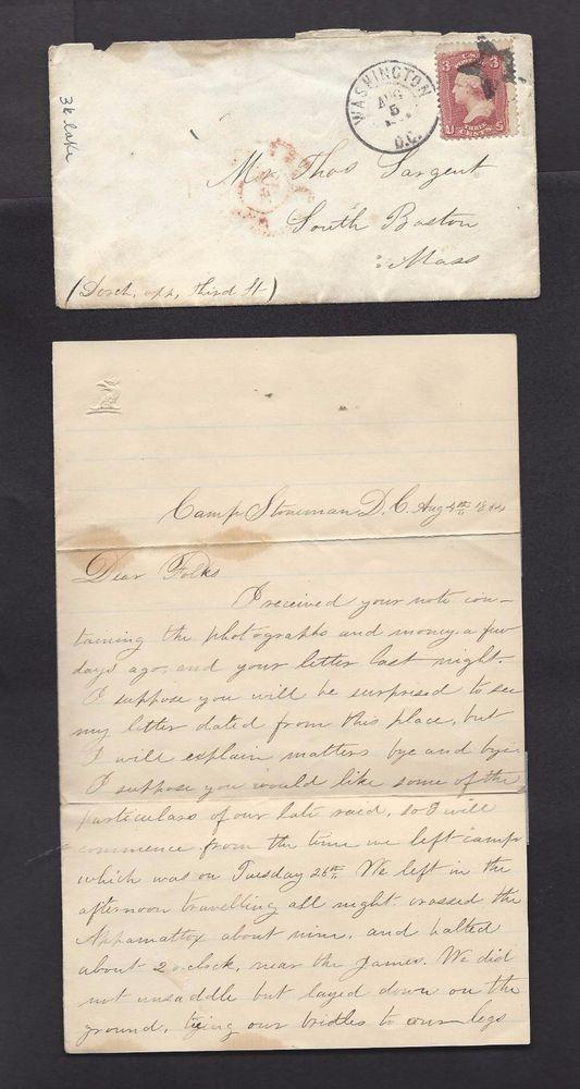 Irish American Civil War soldier's last letter home, found on his dead body