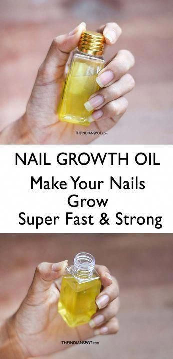 Make Your Nails Grow Super Fast #dailyNailCare