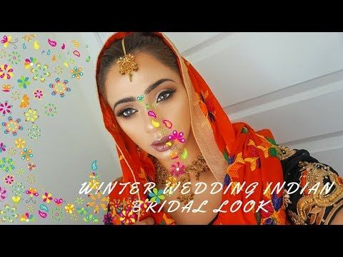 WINTER WONDERLAND INDIAN BRIDAL MAKEUP TUTORIAL | EVELYN RANDHAWA | http://makeup-project.ru/2017/11/29/winter-wonderland-indian-bridal-makeup-tutorial-evelyn-randhawa/