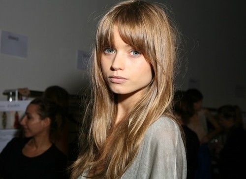 .: Haircuts, Hair Colors, Haircolor, Long Hair, Hair Cut, Hair Bangs, Bangs Bangs, Hair Style, Abbey Lee Kershaw