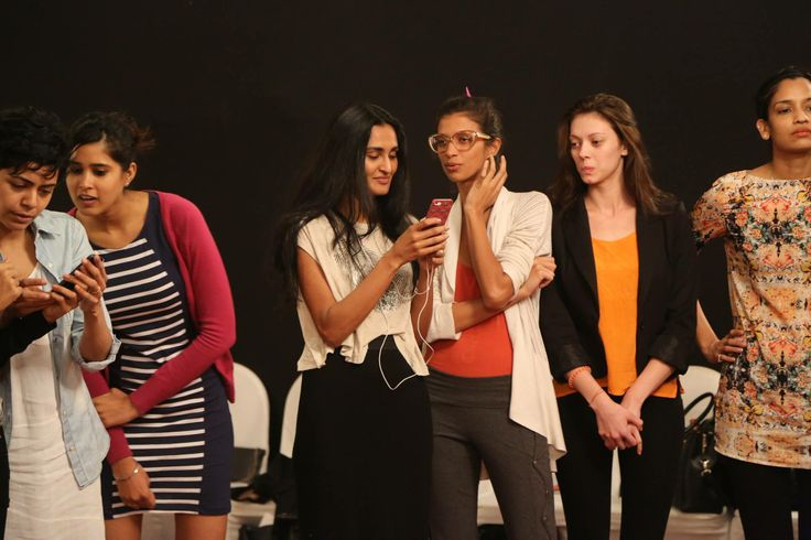 Candid moments from 'Behind The Scenes at WIFW AW'14'