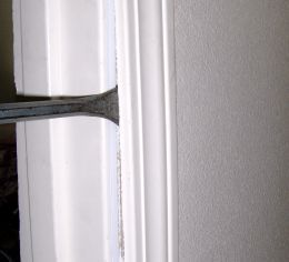 how to fix or repair a broken door frame