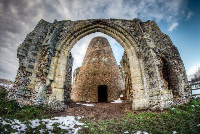 St. Benet's Abbey : [Norfolk Broads Churches HDR ]