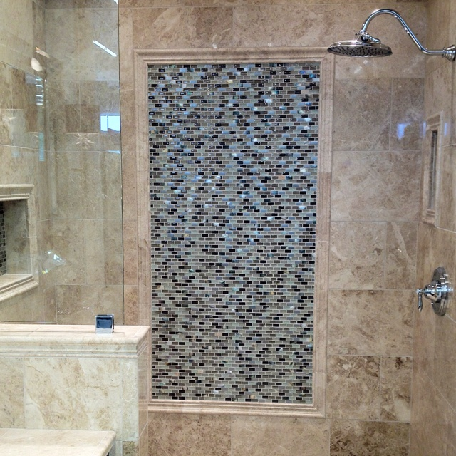 Mosaic Bathroom Tile Ideas: 42 Best Images About Tile Trim Ideas On Pinterest