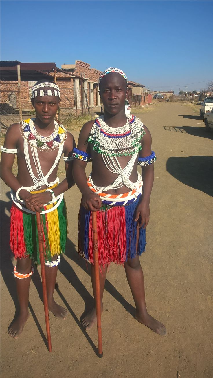 Twins from Enkangala. Sanele and Banele