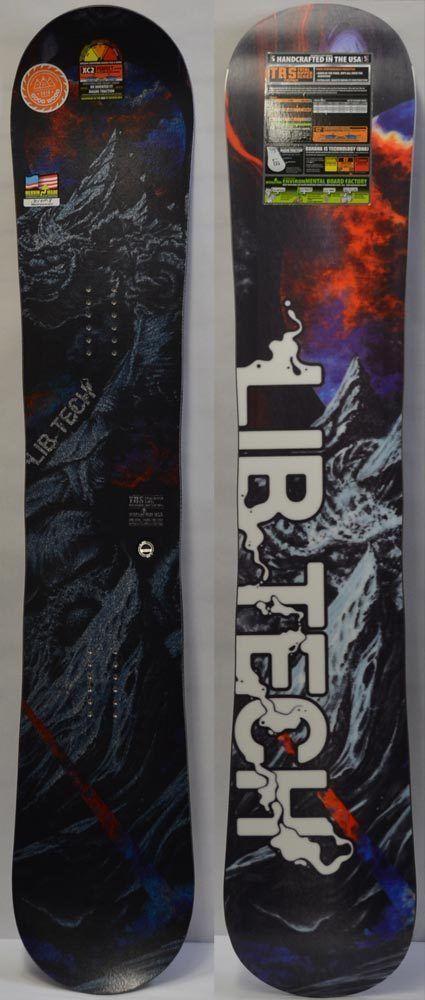 Snowboards 93825: 17 18 Lib Tech Trs Fp Men S Snowboard - 157 Cm *New* -> BUY IT NOW ONLY: $749.95 on eBay!