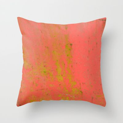 """Throw Pillow / Indoor Cover (16"""" X 16"""") • 'Låverød' • IN STOCK • $20.00 • Go to the store by clicking the item."""