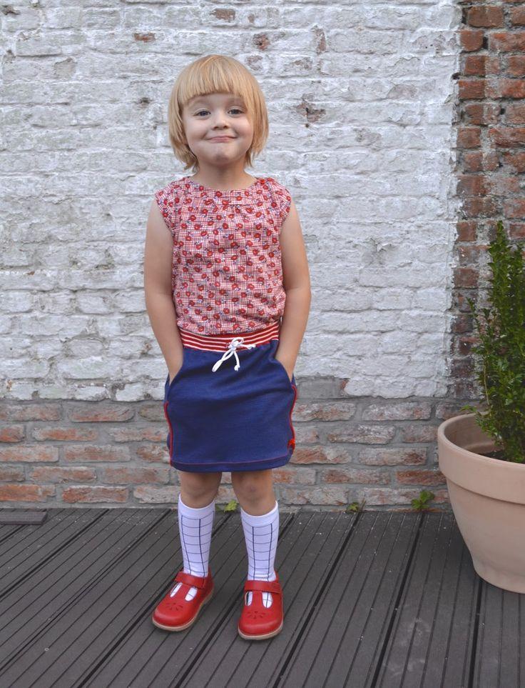 GRATIS / FREE    Skippy Skirt      De Skippy Skirt is een rok in de maten 2 t/m 12j, die kan gemaakt worden in stretchstoffen.   Het is e...
