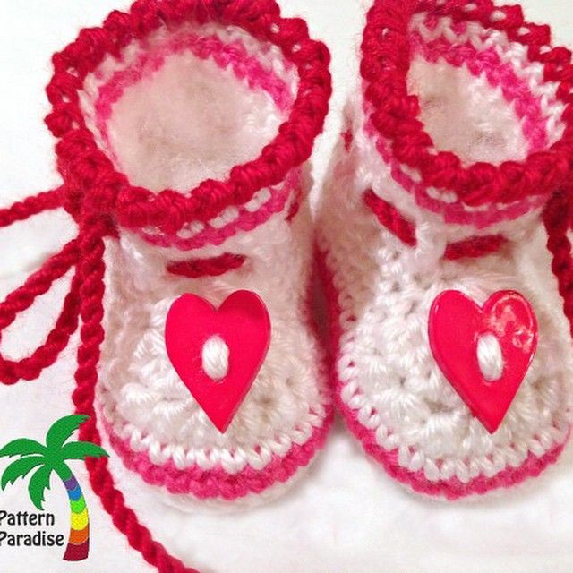 patternparadise crochet booties
