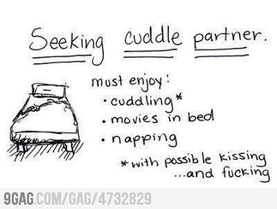 Cuddling*