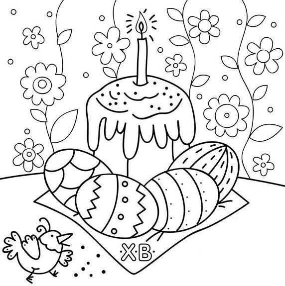 Как нарисовать открытку к празднику пасха