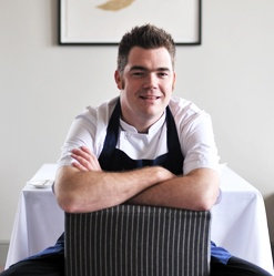 Nathan Outlaw, Cornwall's Mr Fish at Restaurant Nathan Outlaw at Rock in Cornwall. Amongst numbers of known chefs Nathan worked for Rick Stein, just across the Camel Estuary. Now he runs his own 2 Michelin starred restaurant.