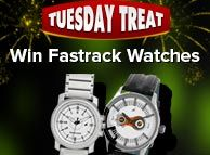 The top three players who win maximum amount during the promotional hours get Fastrack wrist watches................http://bit.ly/1eDPs3w