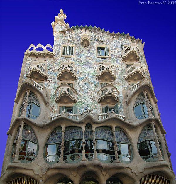 BarcelonaGardens Architecture, Art Nouveau, Casabatllo, Casa Batllo, Barcelona Barcelona, House, Barcelona Spain, Antoni Gaudí, Fairies Tales