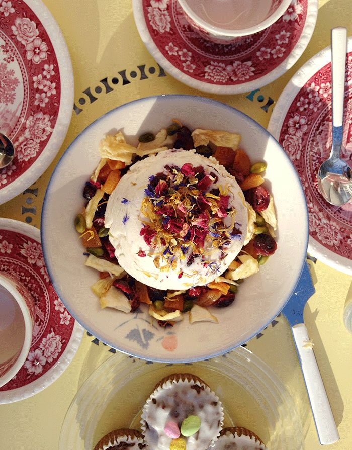 Finnische Küche: Oster-Pascha ( Pasha )