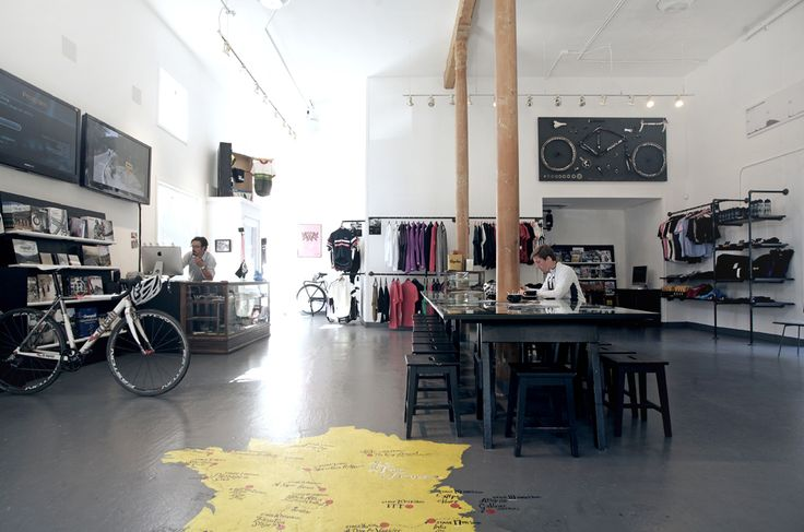 Rapha Cycle Club San Francisco, I really want to visit this place