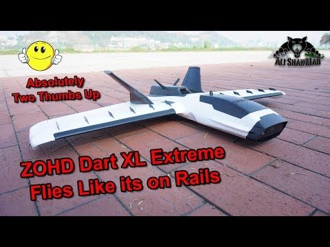 ZOHD Dart XL Extreme Best FPV Flying Wing of the Year | Radio