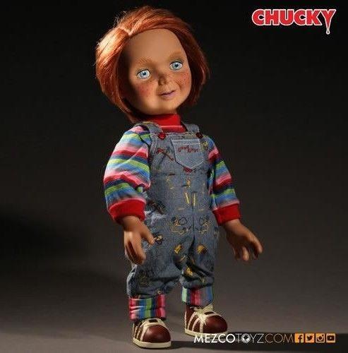 "Chucky 15"" Mega Scale Good Guys Chucky Talking Doll Child's Play Mezco PREORDER"