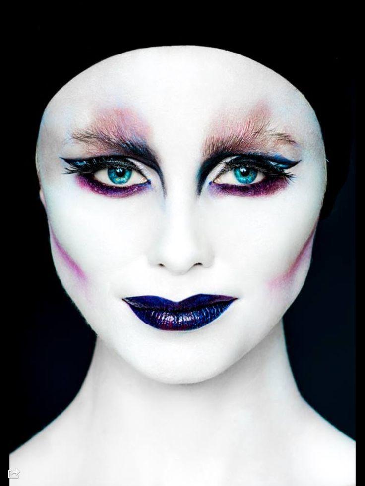 Last creative makeup photoshoot