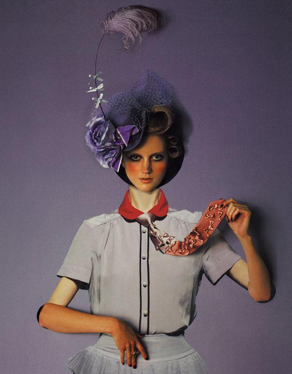 "Art direction for ""Trompe-l'oeil"" by Yuni Yoshida. SO-EN magazine, April 2009"