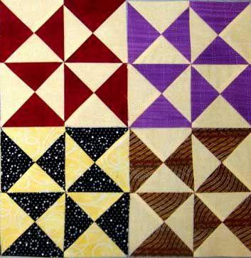 Yankee Puzzle Quilt Block Pattern