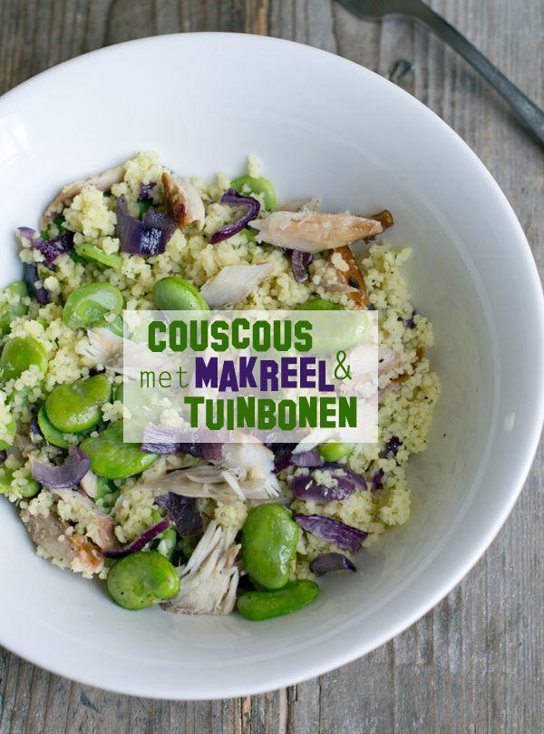 Couscous met makreel en tuinbonen txt