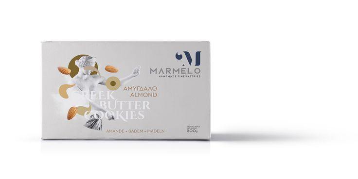 MARMELO - ALMOND GREEK BUTTER COOKIES