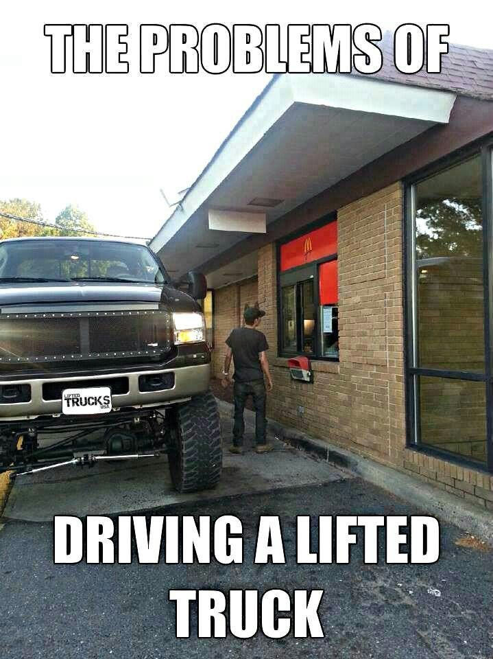women who like lifted trucks quotes | Lifted truck problems
