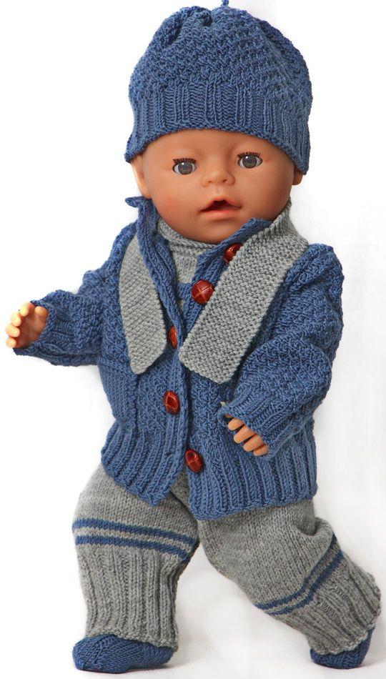 Tricoter des vêtements pour poupée