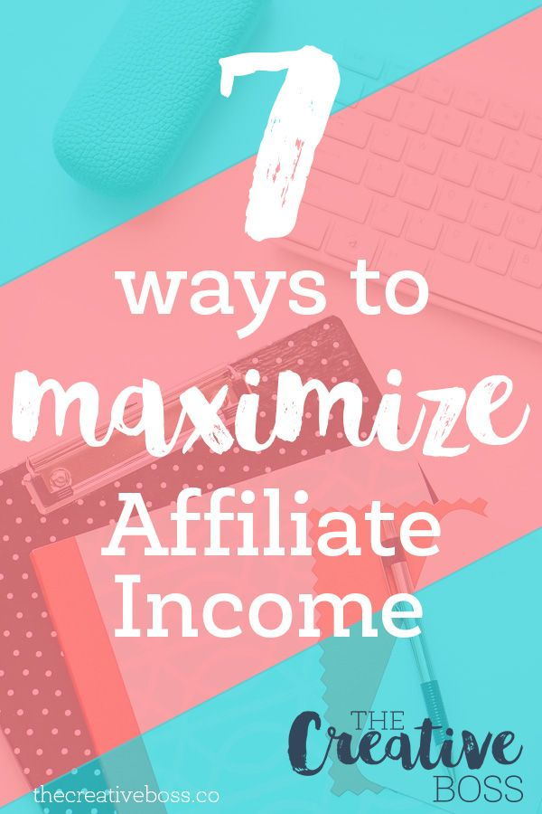 Do struggle with earning money by being an affiliate? Here are 7 ways to maximize your affiliate income.