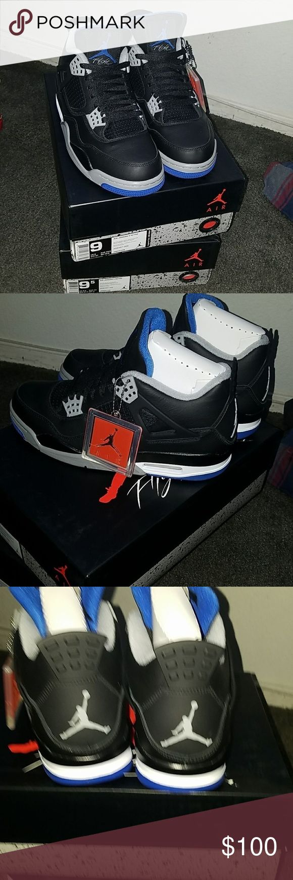 Jordan 4 motorsport Text me if interested (702) 763-6776 comes with receipt and all Jordan Shoes Sneakers