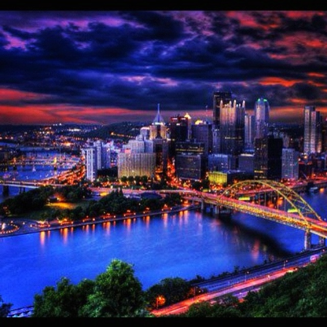 Pittsburgh Skyline: 56 Best Images About Big City Lights And Striking Skylines