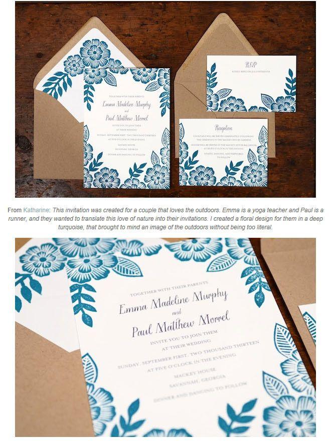 ナチュラルコンセプトなウエディング招待状デザイン   Weddingcard.jp