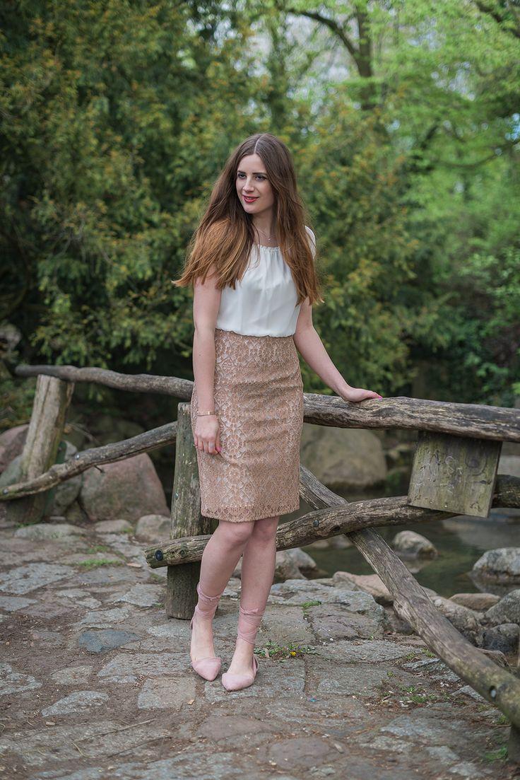 OUTFIT: MIT BETTY BARCLAY IM VIKTORIAPARK Cocktail Kleid von Vera Mont