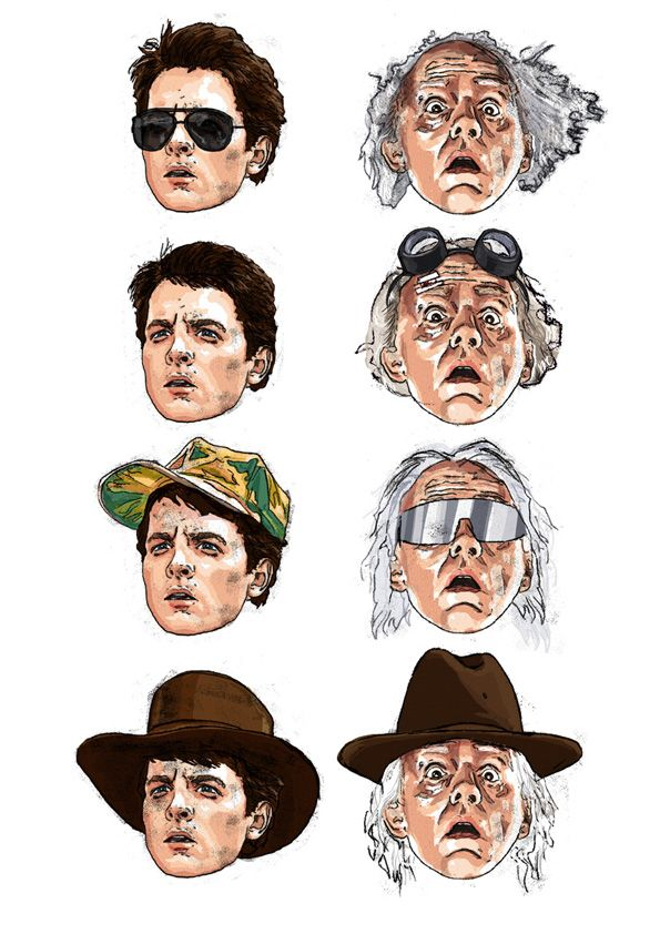 Marty McFly & Doc Brown - Back to the Future