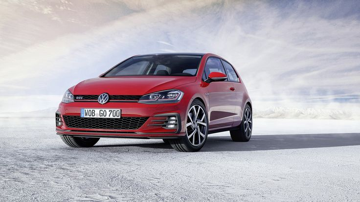 2017 Volkswagen Golf GTI. The 2017 Golf GTI has received a mild face lift with a new bumper design, LED headlight and tail light designs, and new wheels.